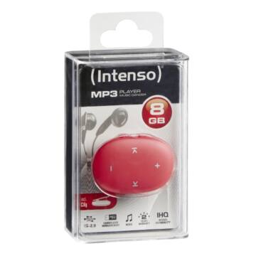 INTENSO MP3 PLAYER 8GB MUSIC DANCER PINK