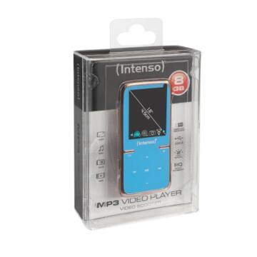 Intenso Mp3 Videoplayer 8GB Scooter 1,8 Blue
