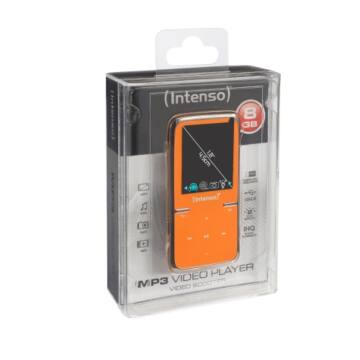 INTENSO MP3 VIDEOPLAYER 8GB SCOOTER 1,8 ORANGE