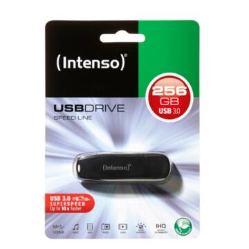 INTENSO USB 256GB SPEED LINE NEU 3.0