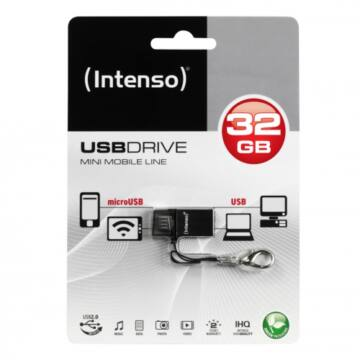 INTENSO USB 32GB MINI MOBILE LINE OTG 2.0