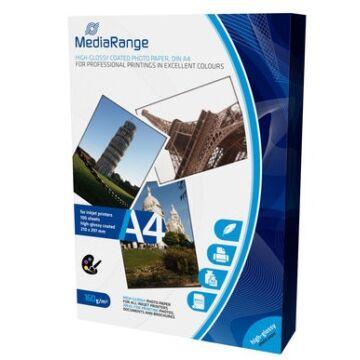 Mediarange MRINK105- Papír A4 Ph. H.Glossy 160 g,100Db