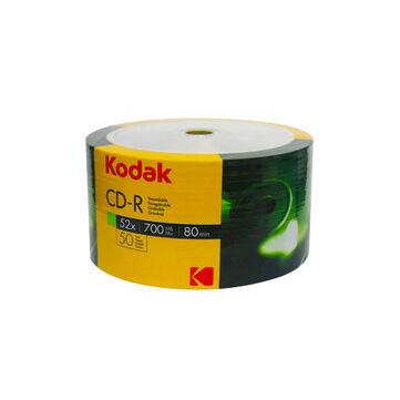 Kodak CD-R 52X 700Mb Teljes Felületén Nyomtatható Lemez - Shrink (50)