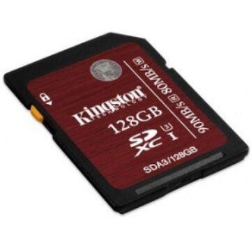 128GB SDXC KINGSTON U3 90R/80W