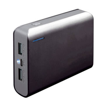 Platinet Power Bank 6000mAh Black/Gray