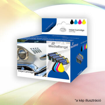 Mediarange Canon PGI-525B And CLI-526 Cmy Set 5 Chip
