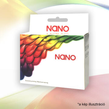 Nano Canon PGI-520 BK (Chip) Utángyártott Tintapatron