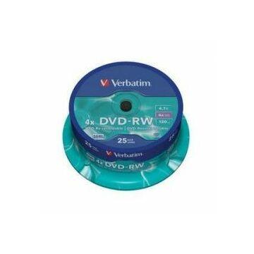 Verbatim DVD-RW 4X Lemez - Cake (25)