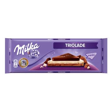Milka Triolade Alpesi Tejcsokoládé 280 g
