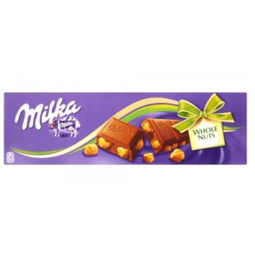 Milka Alpesi Tejcsokoládé Egészmogyorós 250 g