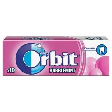 Orbit Wrigley's bubblemint  rágógumi drazsé