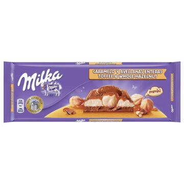Milka Karamellás-egészmogyorós Tejcsokoládé 300 g