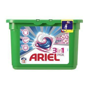 Ariel Touch Of Lenor Fresh 3In1 Mosókapszula 15Db