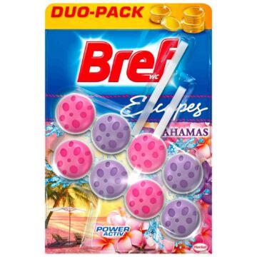 Bref Escapes Power Aktiv Wc Frissítő Duo-Pack (2 db) - Bahamas Sunset