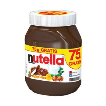 Nutella 750 G + 75 G