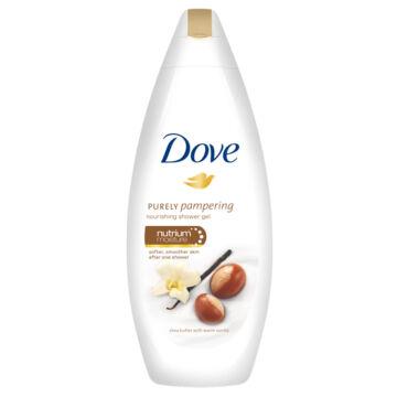 Dove Purely Pampering Tusfürdő Shea Vajjal És Vaníliával 250 ml