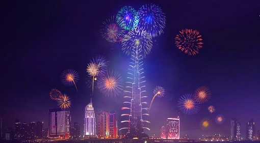 Dubai szilveszteri tüzijáték 2014