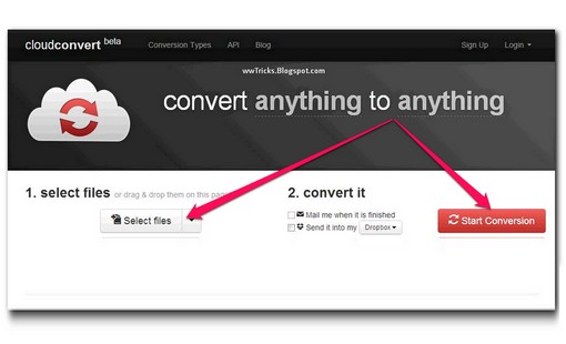 Cloudconvert beta