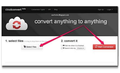 Cloudconvert beta