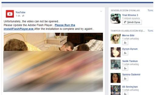 Facebook kártevő 2015 Február