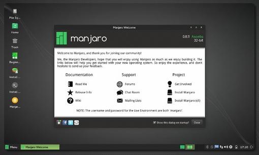 Manjaro Linux 0.8.11