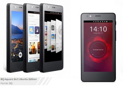 Ubuntus telefon Aquaris E4.5