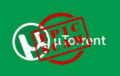 qTorrent kliens epic scam
