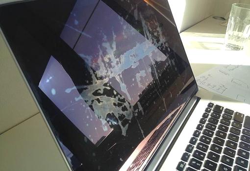 MacBook Pro Retina kijelző hiba