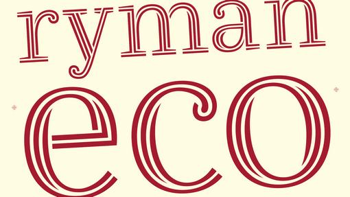 Ryman Eco Font Magyar