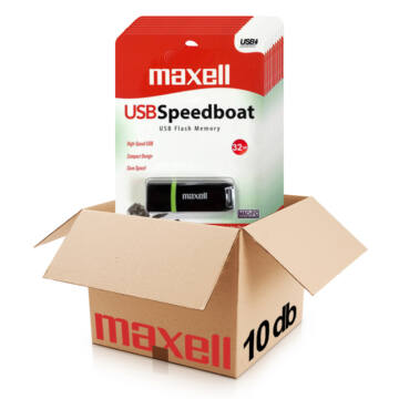 MAXELL SPEEDBOAT PENDRIVE 32GB  USB 2.0  10db-os CSOMAG