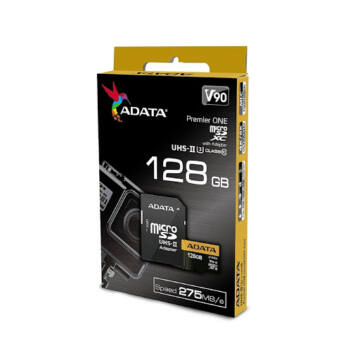 Adata Premier ONE 128GB Micro SDXC [275/155MBps] Adapter