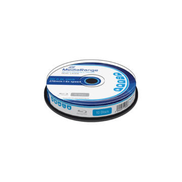 Mediarange BD-R DL 6X 50 gB Blu-Ray Lemez - Cake (10) - MR507