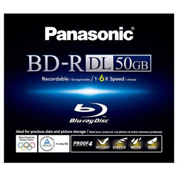 Panasonic BD-R 50GB DL 6x BluRay Lemez Normál Tokban