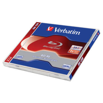 Verbatim BD-RE 2X 50 GB Újraírható Blu-Ray Lemez - Normál Tokban (1) - 43760