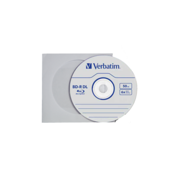 Verbatim BD-R DL 6X 50 GB Blu-Ray Lemez - Papirtokban (1) - 43746_P