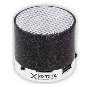 XP101K Esperanza Flash Bluetooth Hangszóró FM Rádióval - Fekete