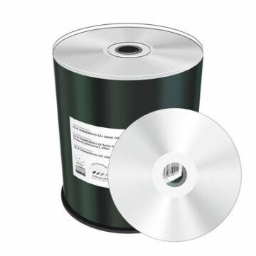 Mediarange Nyomtatható, Ezüst Felületű CD-R Lemez - Cake (100) - MR244
