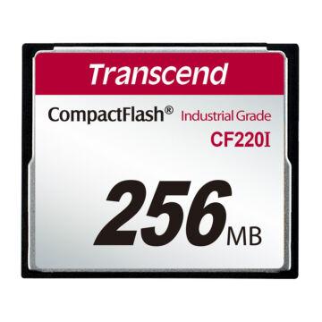Transcend 256MB CF220 Industrial Compact Flash Kártya [UDMA5] TS256MCF220I
