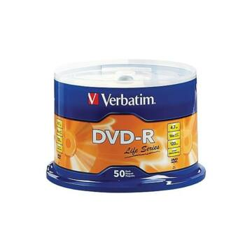 Verbatim DVD-R Life Series 16X Lemez - Cake (50)