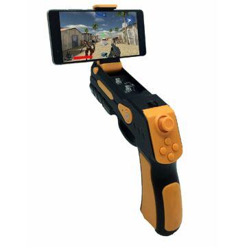 Omega AR Bluetooth Játékvezérlő Mobiltelefonokhoz - Fekete-narancssárga - 44351