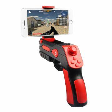 Omega AR Bluetooth Játékvezérlő Mobiltelefonokhoz - Fekete-piros - 44098