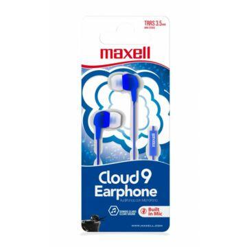 Maxell EB-Cloud9 Stereo Fülhallgató Mikrofonnal - kék