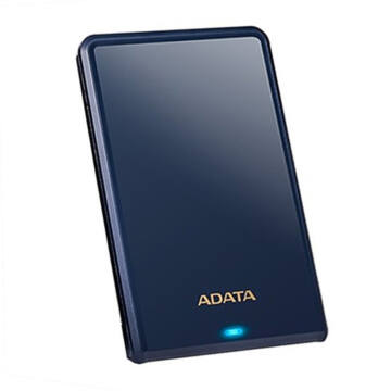 """Adata Hv620S 1TB HDD 2,5"""" Külső Merevlemez, USB 3.0 Kék (AHV620S-1TU3-CBL)"""