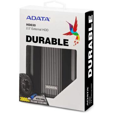 "Adata HD830 4TB HDD 2,5"" IP68 Külső Merevlemez [USB 3.2 Gen1]  AHD830-4TU31-CBK"