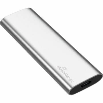 "MR1103 MediaRange 960GB külső SSD Type-C [1.8""/ M.2] Ezüst"