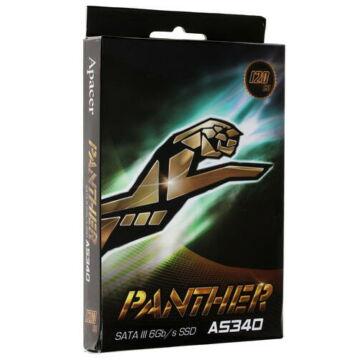 "AP480GAS340G-1 Apacer 480GB SSD AS340 Panther 2.5"" SATA3 6GB/s [550/520 MB/s]"