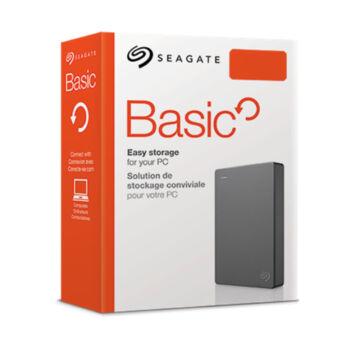 SEAGATE BASIC Külső HDD 4TB USB 3.0 Szürke STJL4000400