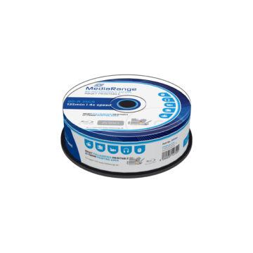 Mediarange BD-R 25 gB 4X Teljes Felületén Nyomtatható Blu-Ray Lemez - Cake (25) - MR504