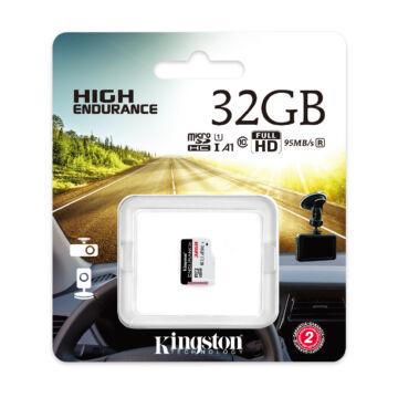 SDCE/32GB Kingston 32GB Endurance (A1) CL10 microSDHC (95R/45W)