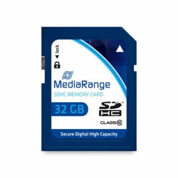 MR964 MediaRange 32GB SDHC memóriakártya Cl10